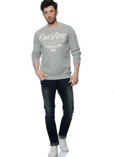 Broadway Sweatshirt Gri